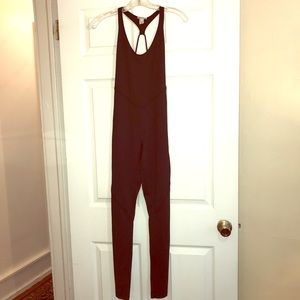 Forever 21  black SzS exercise jumpsuit